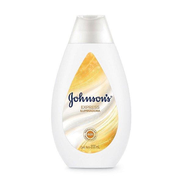 Hidratante Beauty Express Johnson's Soft Iluminadora 200ml
