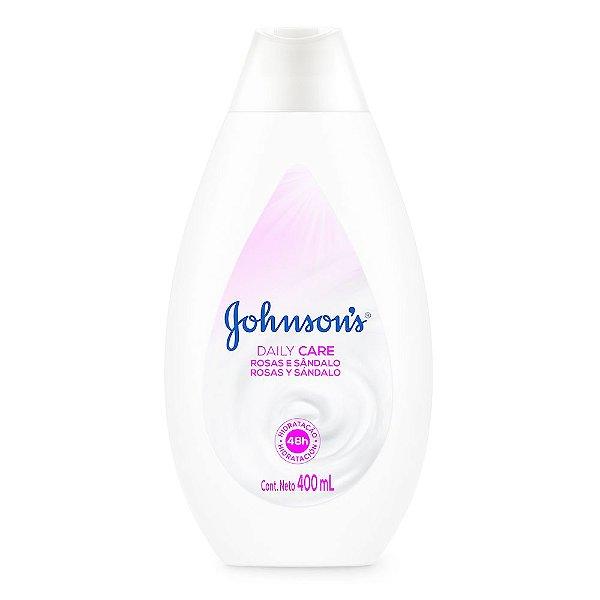 Hidratante Daily Care JOHNSON'S Rosas e Sandalo 400ml