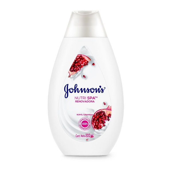 Hidratante Nutri Spa Renovadora JOHNSON'S Romã 200ml