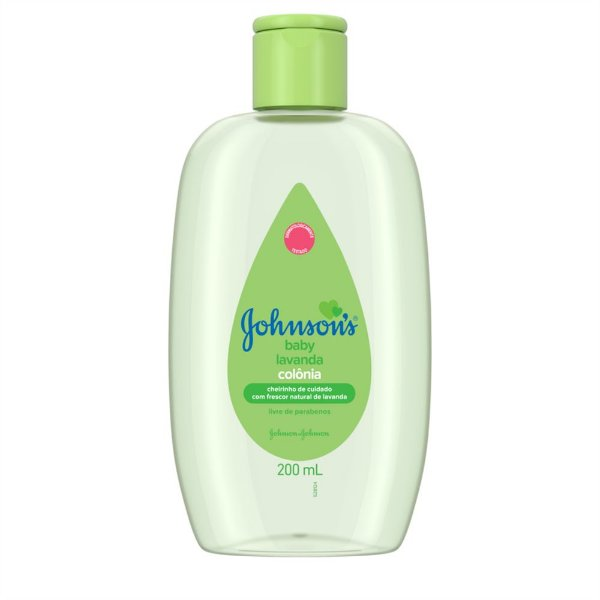 Colônia Johnson's Baby Lavanda 200 ml