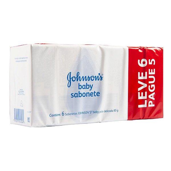 Kit promocional Sabonete em Barra JOHNSON'S Baby Original 80g Lv 6 Pg 5