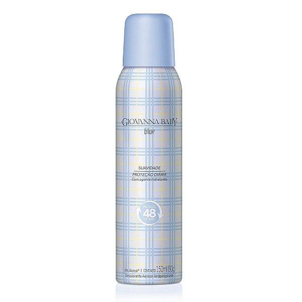 Desodorante Aerossol Giovanna Baby Blue 150 ml
