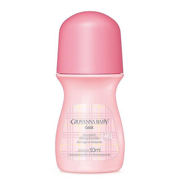 Desodorante Rollon Giovanna Baby Classic 50ml