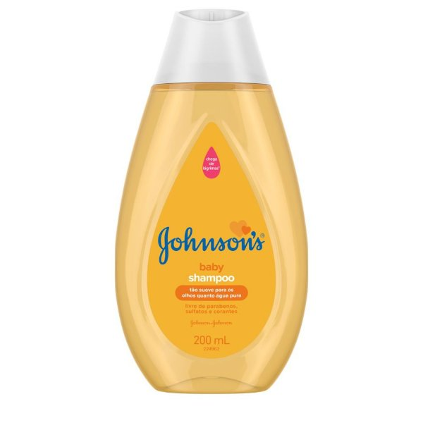 Kit c/ 4 Shampoo JOHNSON'S Baby Regular 200 ml