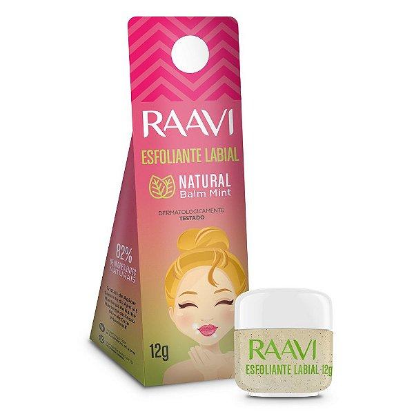 Esfoliante Labial Natural Balm Mint Raavi 12g