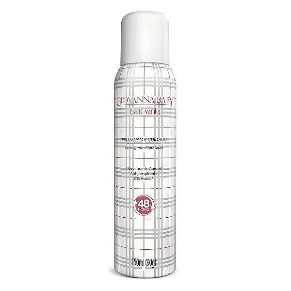 Leve 3 Pague 2 Desodorante Aerossol Giovanna Baby Blanc Vanilla 150 ml