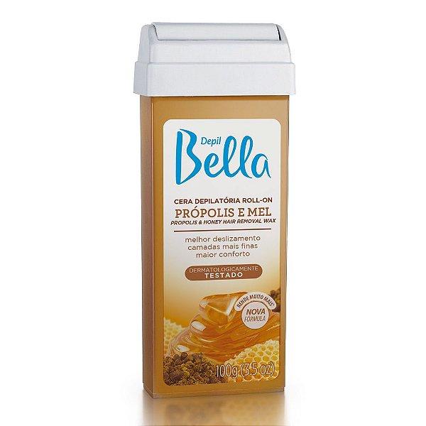 Refil Cera Depilatória Roll-On Depil Bella Propolis e Mel 100g