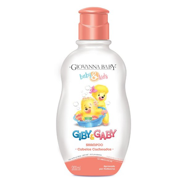 Kit c/ 2 Shampoo Giby Giovanna Baby 200 ml