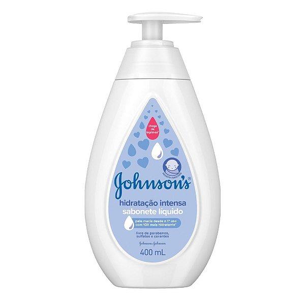 Kit c/ 2 Sabonete Líquido JOHNSON'S Baby Hidratação Intensa 400ml