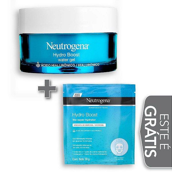 Na compra de 1 Hidratante Facial NEUTROGENA Hydro Boost Water Gel 50g Leve 1 Face Masks Hydro Boost NEUTROGENA 30gr
