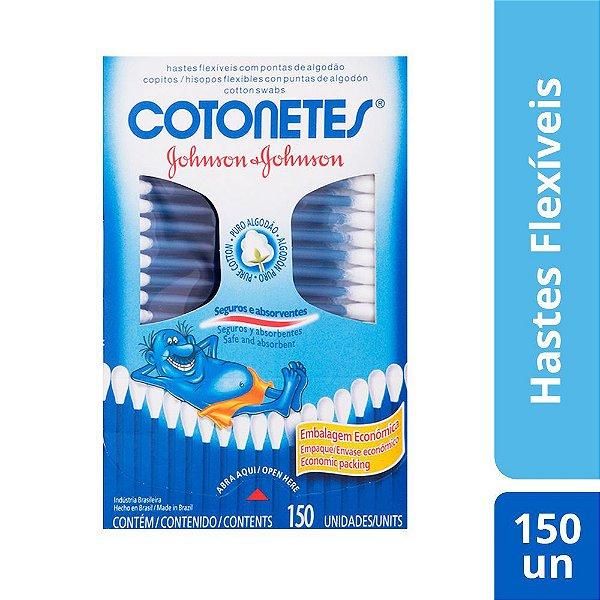 Hastes Flexíveis COTONETES 150 unidades