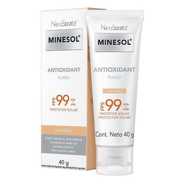 Protetor Solar Facial Neostrata Minesol Antioxidant Universal FPS99 40g