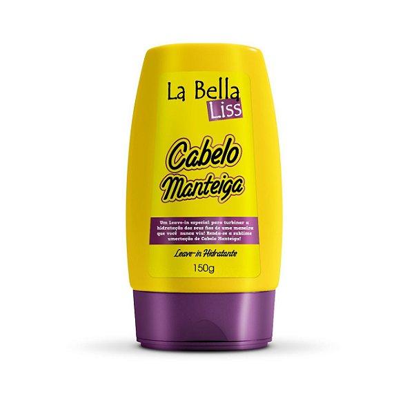 Leave-in de Nutrição Cabelo Manteiga La Bella Liss 150g
