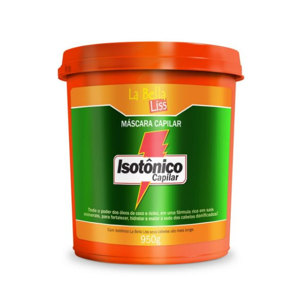Máscara de Hidratação Isotônico Capilar La Bella Liss 950g