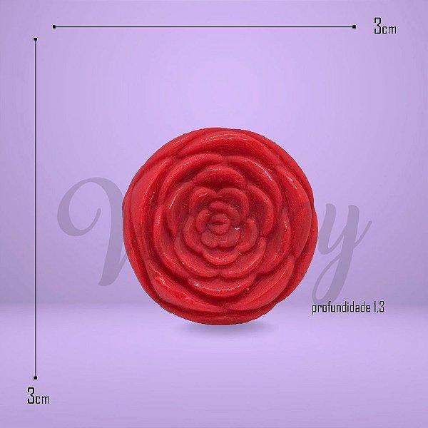 7218 - Sabonete Mini Rosinha Vermelha