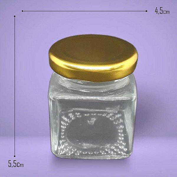 5595 - Vidro Geleinha Quadrado