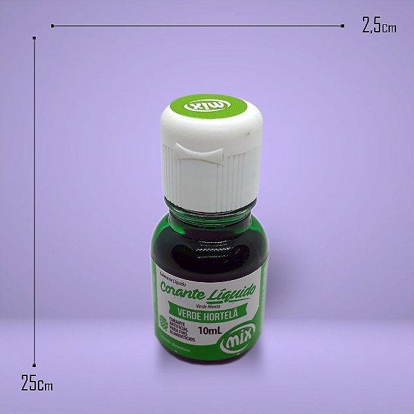 2480 - Corante Alimentício Verde Hortelã 10ml