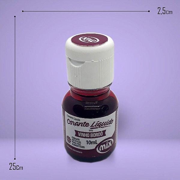 339 - Corante Alimentício Vinho Brodo 10ml