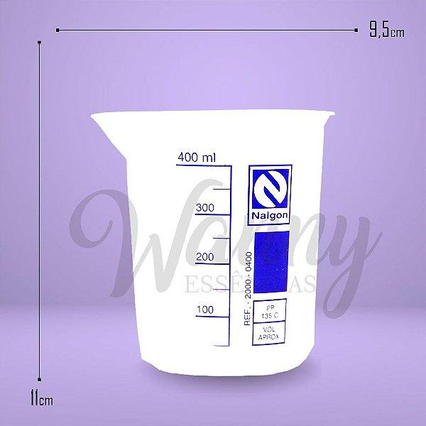 1059 - Copo Becker Plástico 400ml