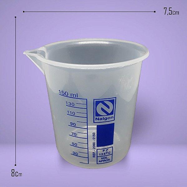 1057 - Copo Becker Plástico 150ml
