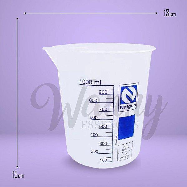 1061 - Copo Becker Plástico 1000ml