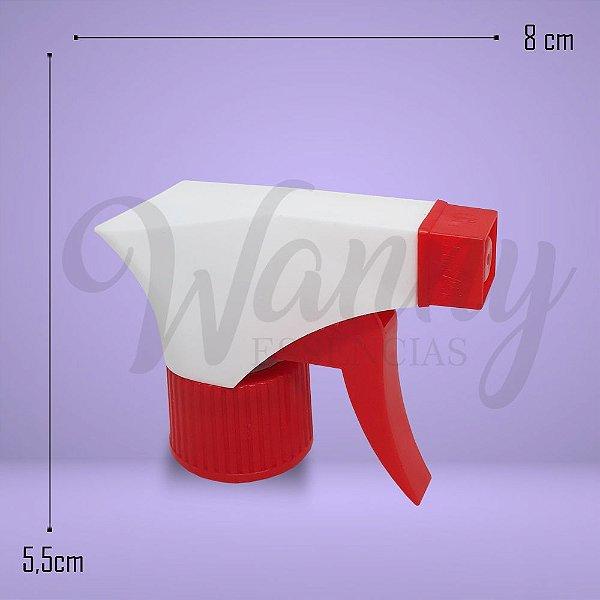 3649 - Válvula Gatilho Branco C/ Vermelho R28