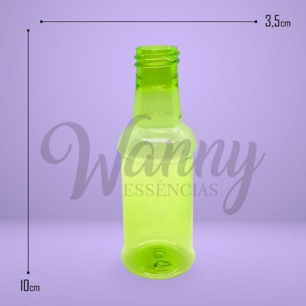 5099 - Frasco Pet Amarula Verde 60ml