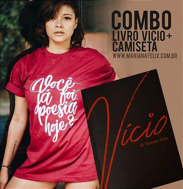 COMBO - LIVRO + CAMISETA