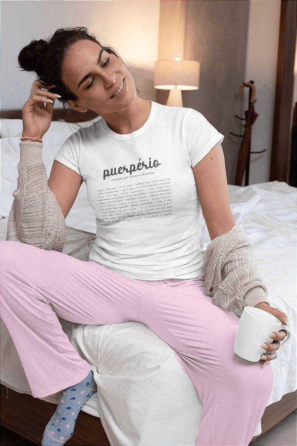 Camiseta Materna [PUERPÉRIO]