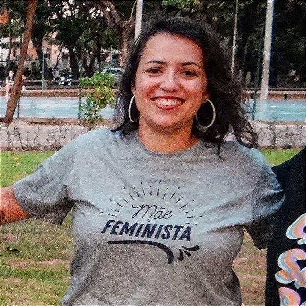 Camiseta Materna [MÃE FEMINISTA]