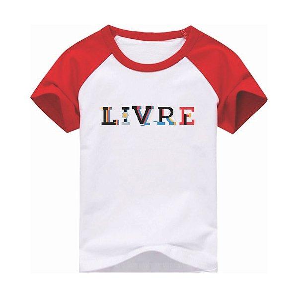 Camiseta Infantil [LIVRE]