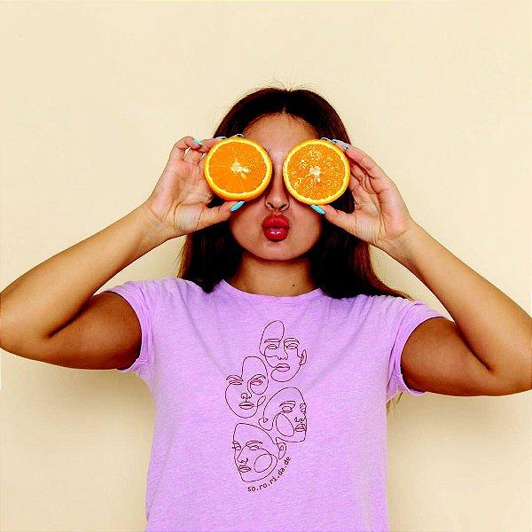 Camiseta Feminina [SO.RO.RI.DA.DE]