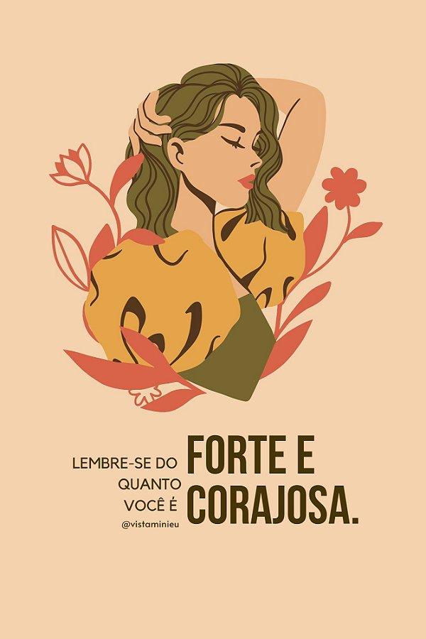 Poster [FORTE E CORAJOSA]