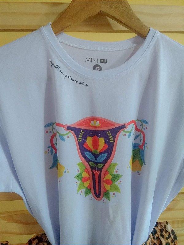 Camiseta Feminina [RESPEITE SEU PRIMEIRO LAR]