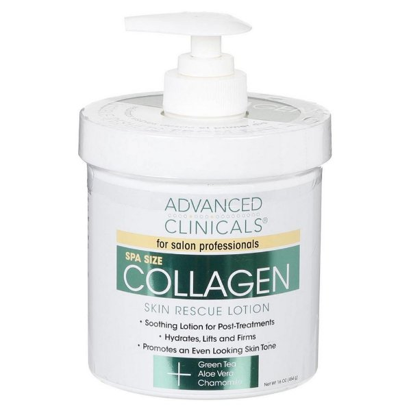 Advanced Clinicals Collagen Skin Rescue Lotion