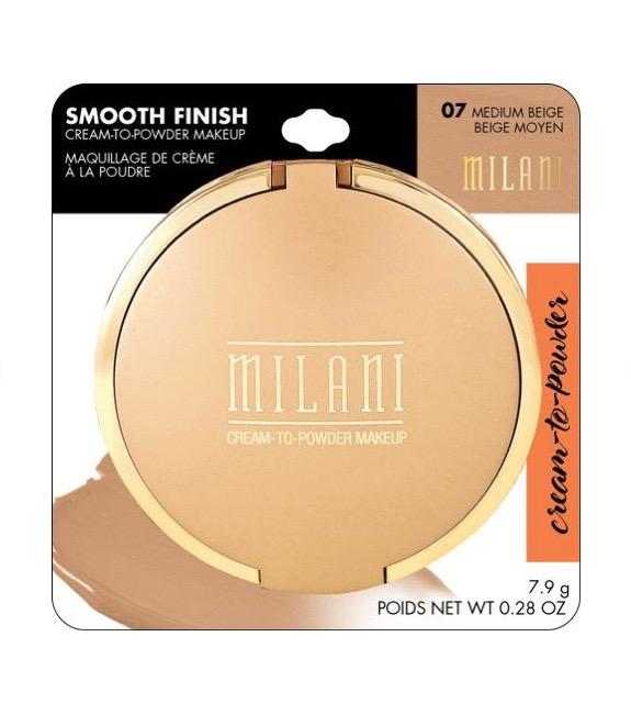 Milani Smooth Finish Pó Creme  Médio Bege 07