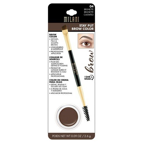 Milani Stay Put Brow Color Brown Brunette 04