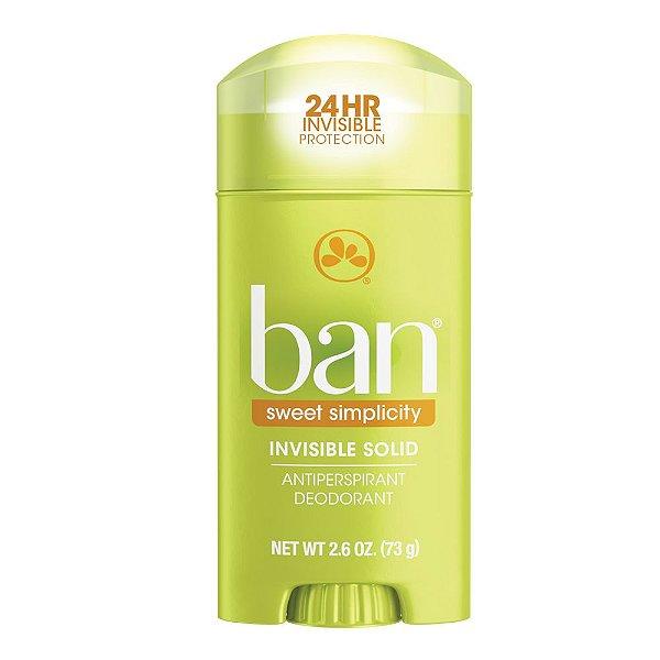 Ban Desodorante Antitranspirante Sweet Simplicity