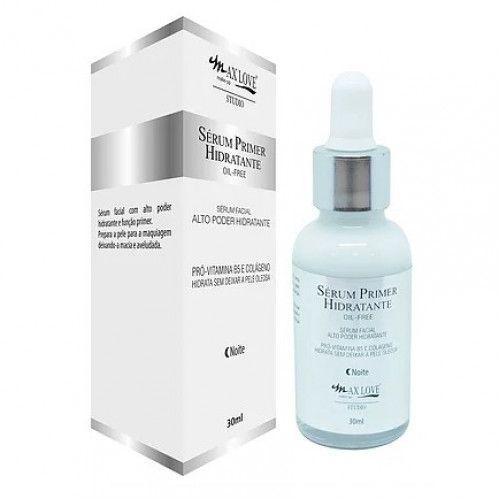 Max Love Sérum Primer Hidratante Oil-Free Noite
