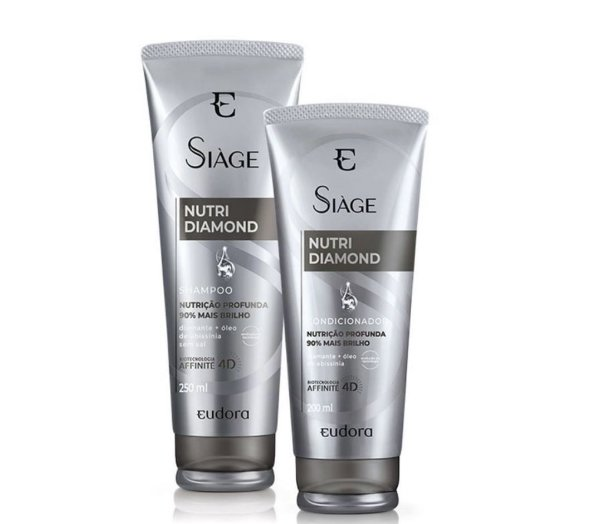 Eudora Kit Siàge Nutri Diamond Shampoo + Condicionador
