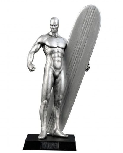 Miniatura Marvel - Surfista Prateado