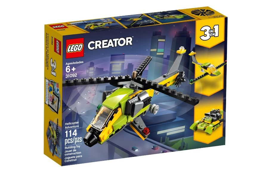 LEGO Creator - Modelo 3 Em 1: Velocidade no Céu e no Mar