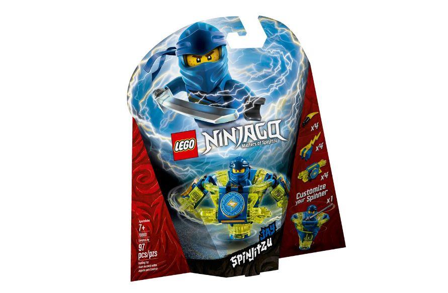 LEGO Ninjago - Lançador Spinjitzu: Jay