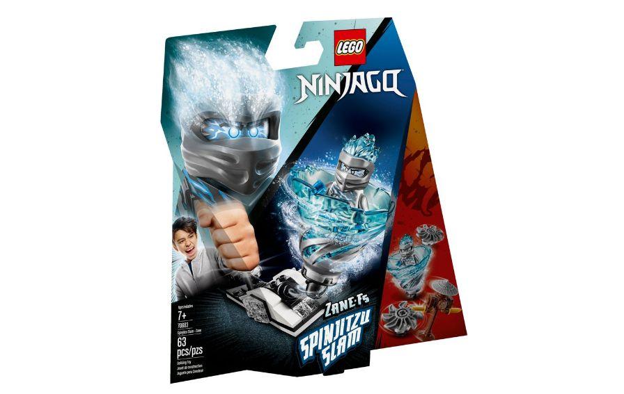LEGO Ninjago - Lançador Spinjitzu: Zane