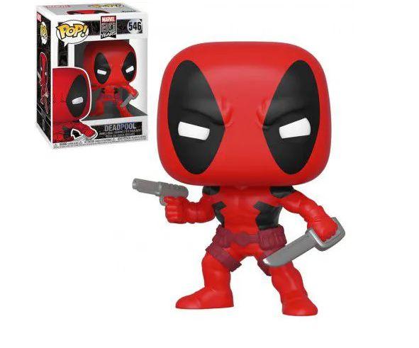 Funko Pop Marvel 80 Anos - Deadpool 546