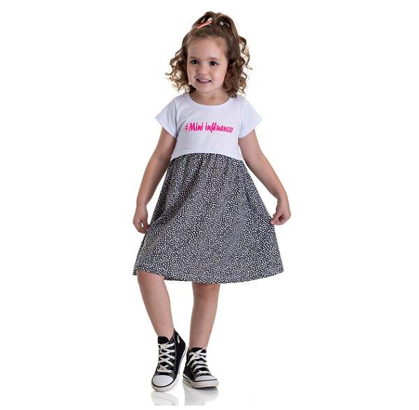 Kit 3 Vestidos Meia Malha Mini Influencer 1 a 3