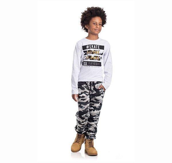 Kit 3 Camisetas Meia Malha #Skate 10/14