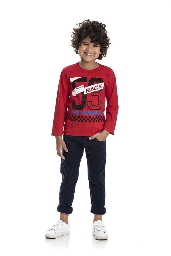 Kit 3 Camisetas Meia Malha 59 Race 4 a 8