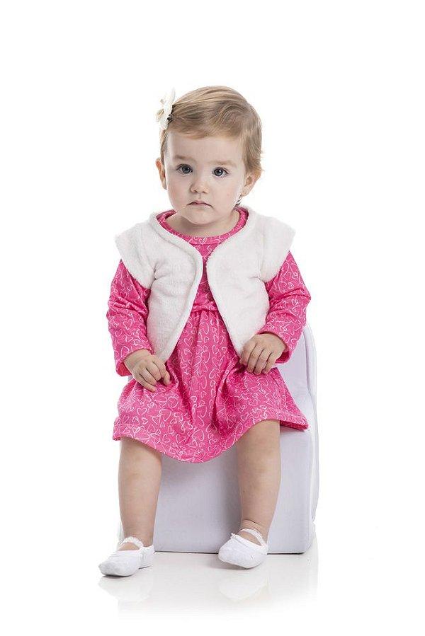 Kit 3 Vestidos Cotton Sublimado P a G