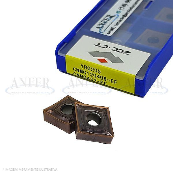 Caixa de Inserto CNMG 120408-EF YBG205 para Inox